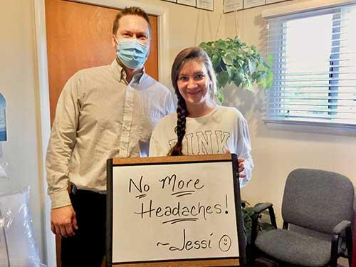 Zehr Chiropractic testimonials - Jessi